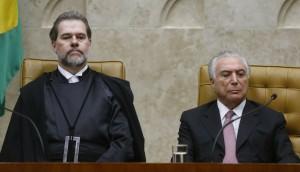 Dias Toffoli toma posse na presidência do STF